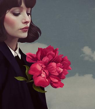 Un coeur de fleur…